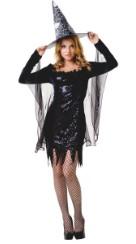 костюм ведьмы гламурный