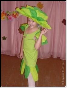 красивая шапочка капусты