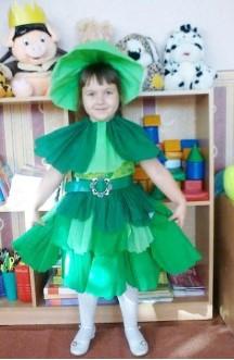 бумажное платье капусты
