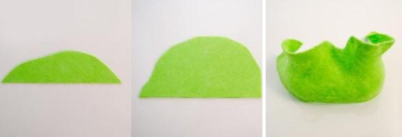шапка капусты из вискозных салфеток: инструкция