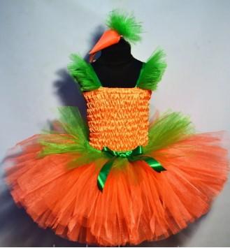 костюм морковки из фатина своими руками