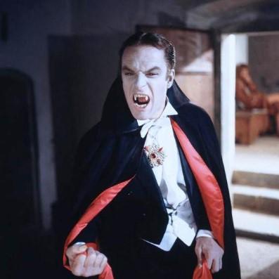 мужская причёска вампира