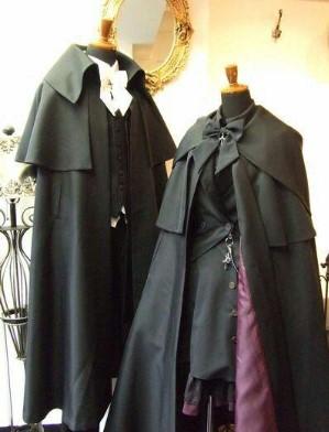 костюмы вампиров в викторианском стиле