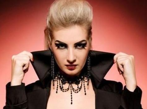 воротник-стойка к плащу вампира