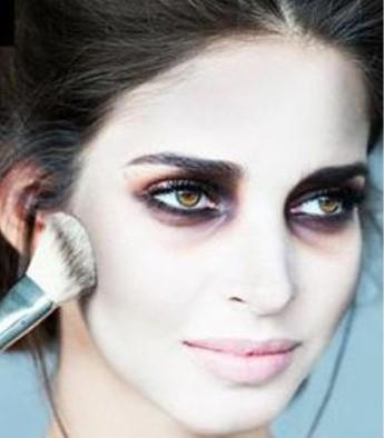 макияж вампирши своими руками: пошаговая инструкция