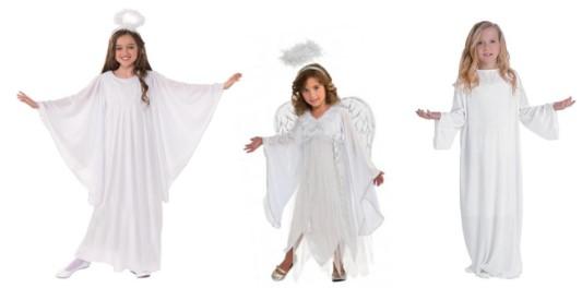 3 ангела в полный рост вид спереди