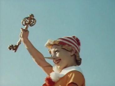Образ Буратино с ключиком из фильма