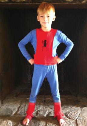 Костюм Человека-паука для мальчика без маски