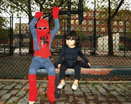 Костюм Человека-паука с маской для мальчика