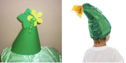 варианты шапочки огурца