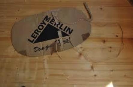костюм огурца из картона: завязки