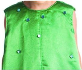 декор костюма огурца
