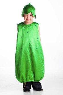 костюм огурца в виде балахона