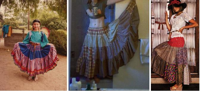 костюм цыганки быстро из подручных материалов