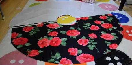 как сделать юбку-солнце
