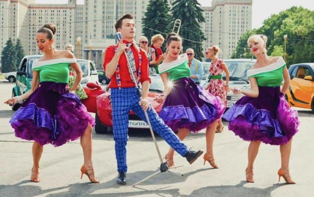 вечеринка стиляг танцы