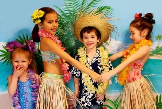 День рождения ребенка в гавайском стиле