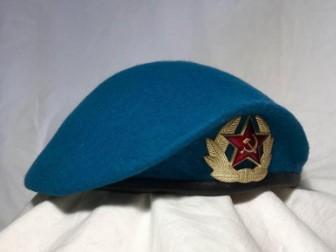 Синий берет десантника