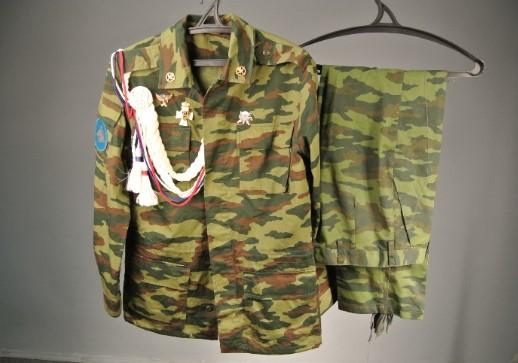Взрослый костюм десантника