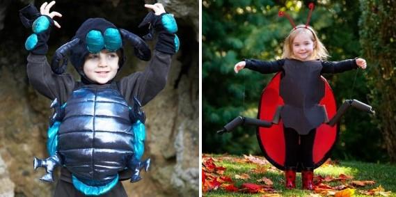Костюм жука для мальчика и костюм жука для девочки