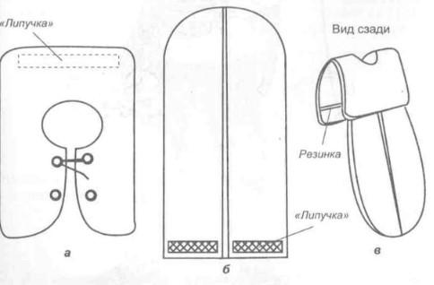 Схема накидки для костюма жука
