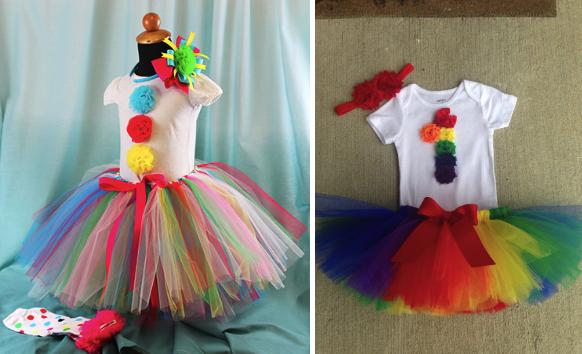 Костюмы клоуна для девочки с пышной юбкой