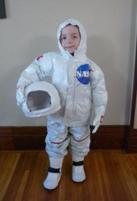 Костюм космонавта NASA на ребенке