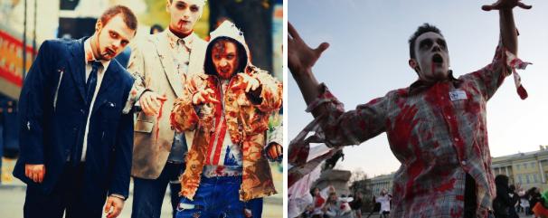 Мужской костюм зомби