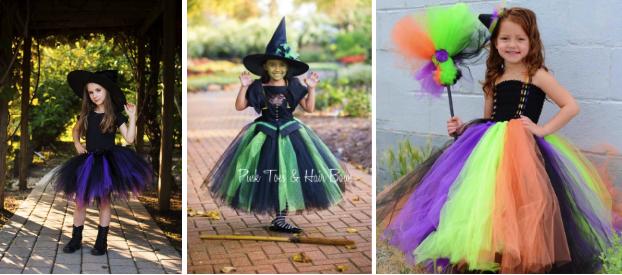 Костюм ведьмы для девочки