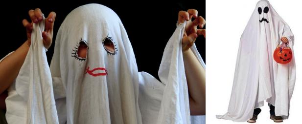 Костюм привидения для ребёнка