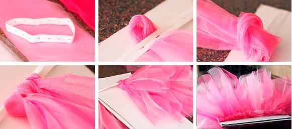 6 картинок с розовым материалом
