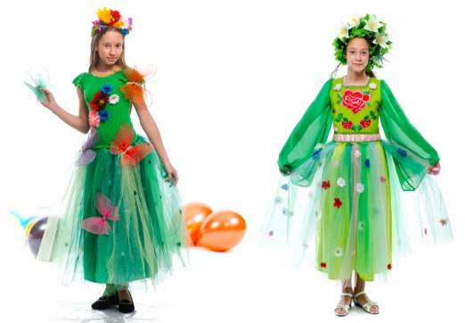 Костюм платье лета с декором
