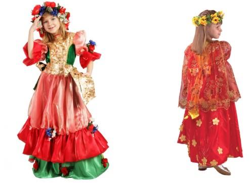 Костюм платье лета многослойное