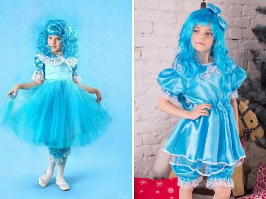 Детские костюмы Мальвины