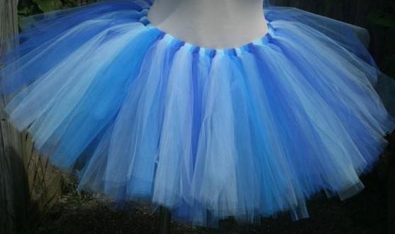 Голубая ту-ту юбка для костюма Мальвины