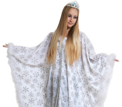 костюм зимы на масленицу