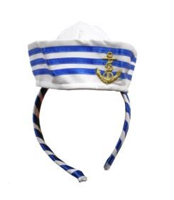 Ободок с шапочкой моряка