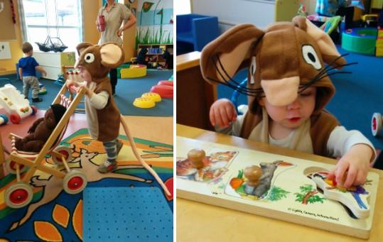 Костюм мыши с усами для ребенка