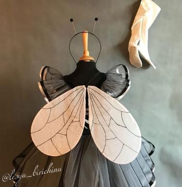 Капроновые крылья для костюма мухи