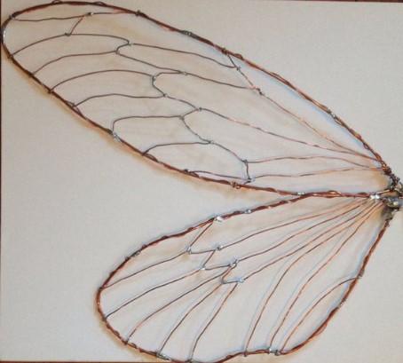 Крылья из проволоки для костюма мухи