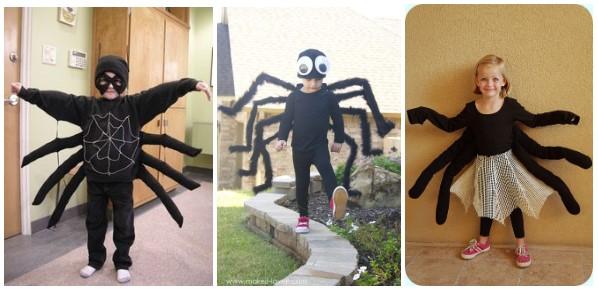 Варианты костюмов паука для детей