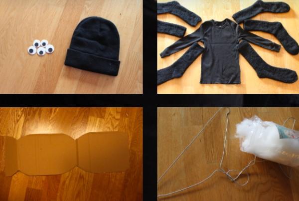 Изготовление костюма паука для ребёнка