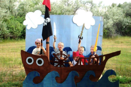 декорация корабль
