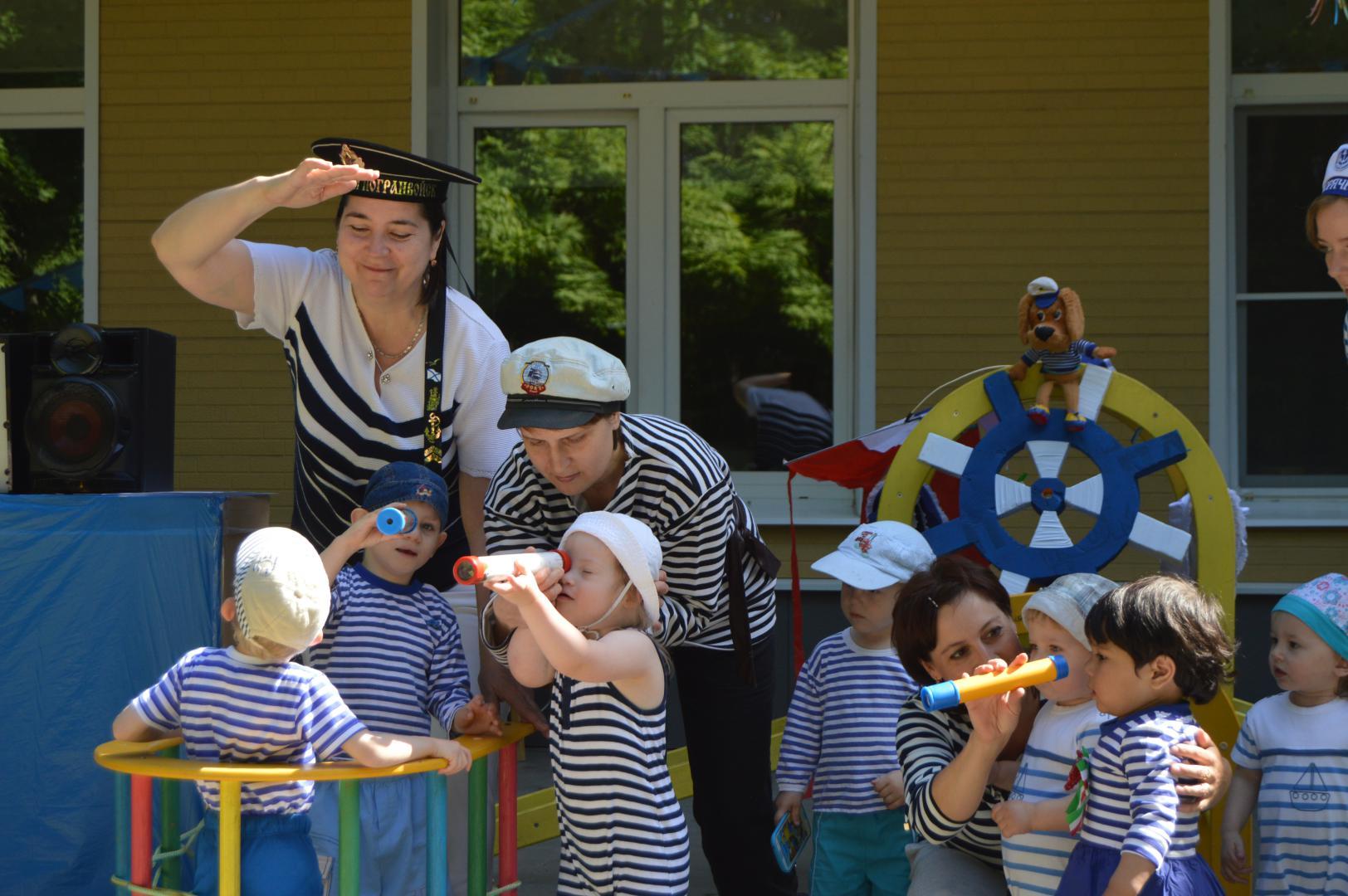 морская вечеринка для детей от 7 до 12 лет