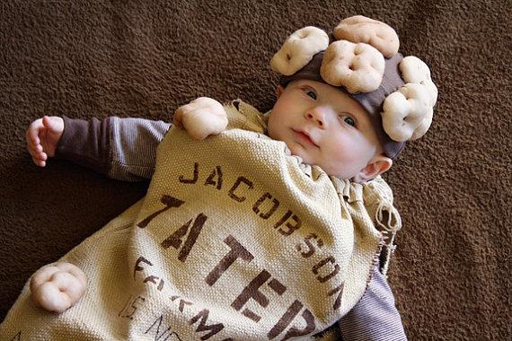 костюм из мешка картошки