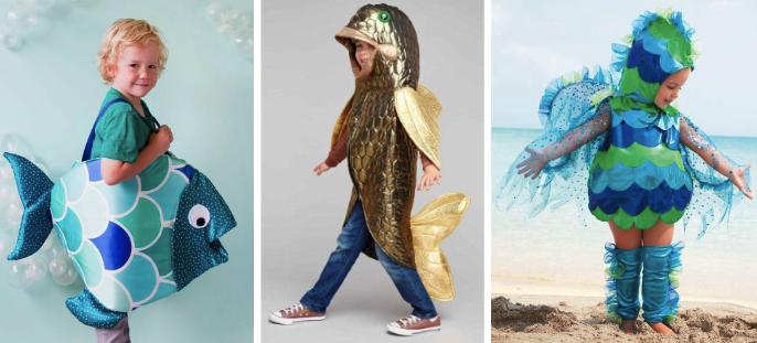 Костюмы рыбки для мальчиков