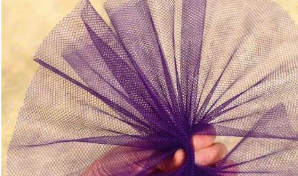 сетчатая ткань для плавника