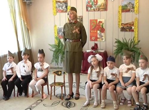 Детский утренник на 9 мая в детском саду в костюмах