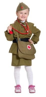 Костюм военной медсестры для девочки