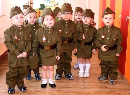 Костюмы солдат для детей на 9 мая на утренник
